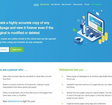Revisión de WebSatchel: guarde las páginas web para su uso posterior