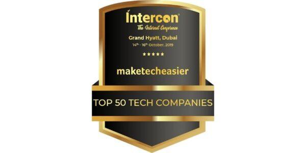 "Make Tech Easier recibe el premio ""50 Top 50 Technology Companies"""