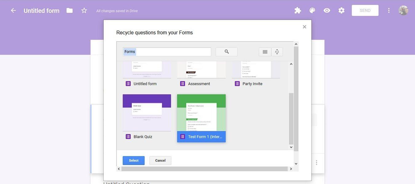 Cómo reutilizar y combinar formularios de Google con FormRecycler