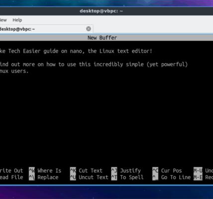 Guía para principiantes sobre el uso de Nano Text Editor en Linux