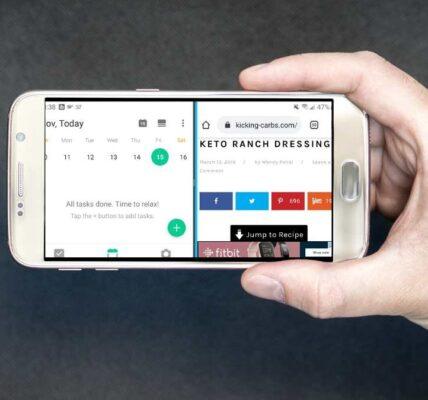 Cómo utilizar el módulo Android Pantalla dividida en multitarea