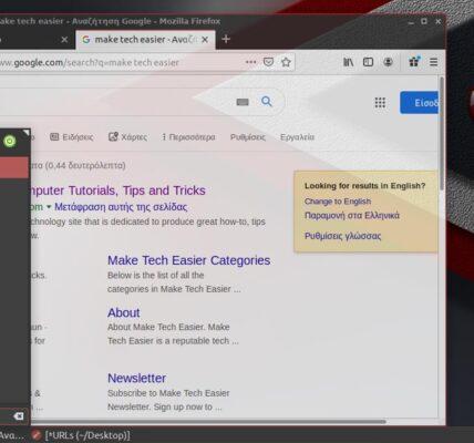 Cómo agregar la búsqueda de Google y otras acciones de búsqueda al menú principal de Peppermint