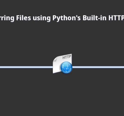 Transfiera archivos usando el servidor HTTP integrado de Python