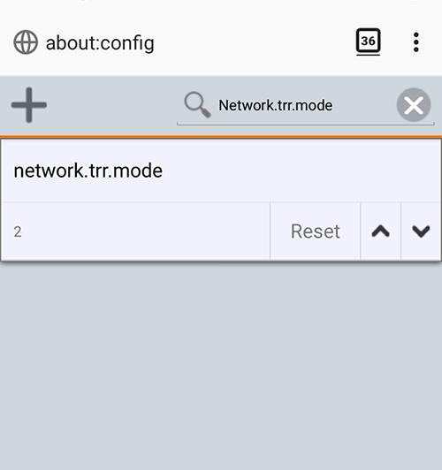 DNS en Https Android Firefox