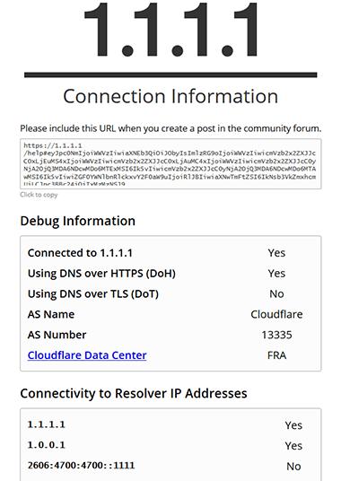 Prueba de DNS sobre HTTPs DNS