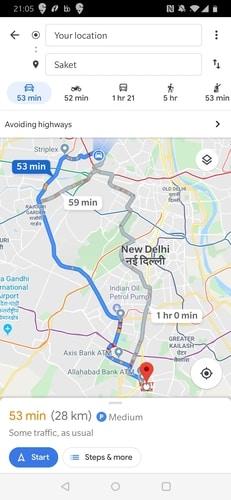 Android        Mapas de Google