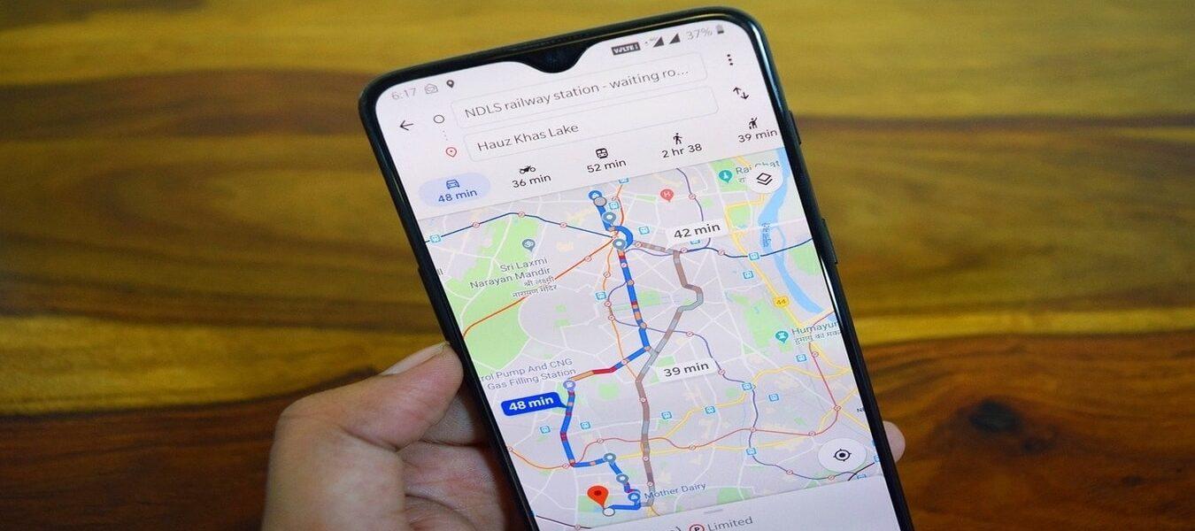 Cómo cambiar tu ruta en Google Maps