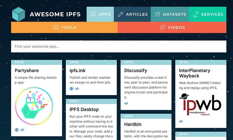 Aplicaciones IPF