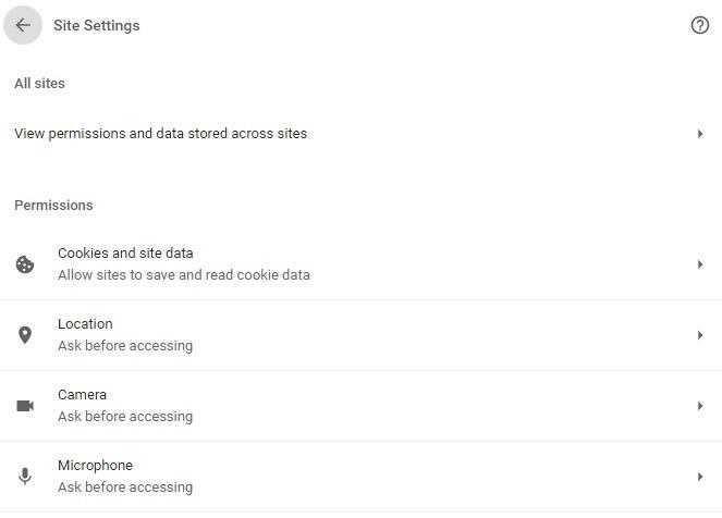Optimizar la configuración del sitio
