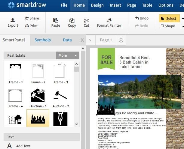 Creación de equipos de marketing de Smartdraw