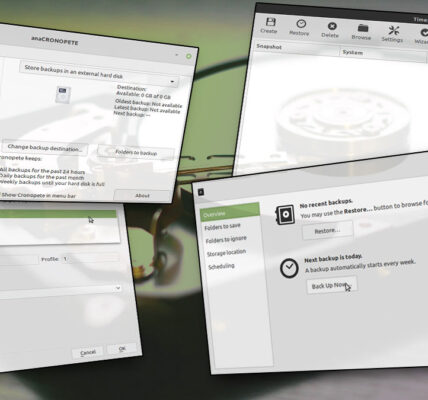 4 alternativas a Time Machine para Linux
