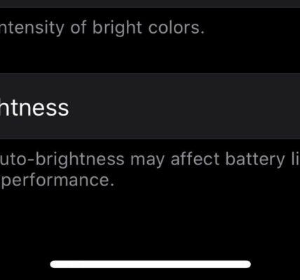 Cómo desactivar el brillo automático en iOS