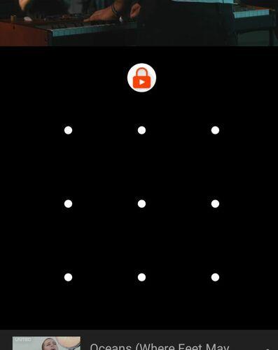 Prueba de niños Android Patrón de desbloqueo de teléfono