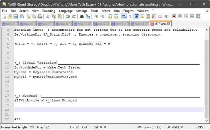 automatiza Windows Con Ahk Target y las aplicaciones Windows