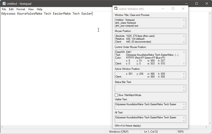 automatiza Windows Con ahk Windows Para espiar