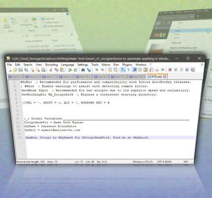 Cómo usar AutoHotkey para automatizar cualquier cosa Windows