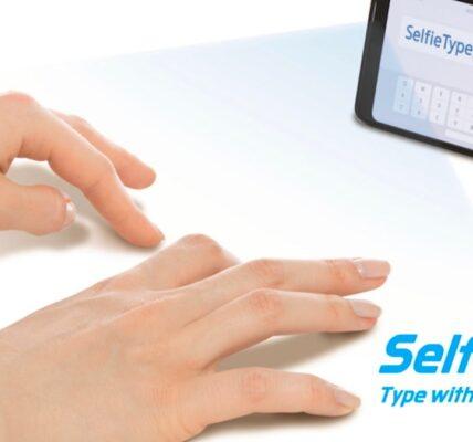 Samsung Electronics lanzará el teclado virtual SelfieType en CES
