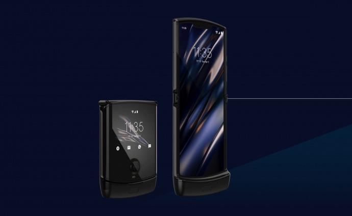 Listo para doblar Smartphone Motorola Razr