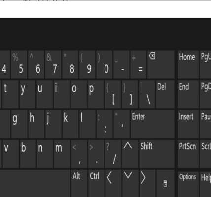 Cómo usarlo mejor Windows 10 Teclado en pantalla