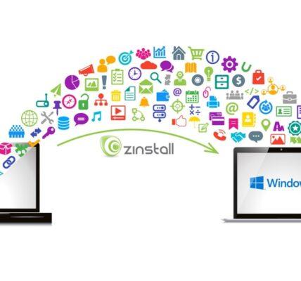 Transferir programas y archivos desde Windows 7 el Windows 10 Uso de Zinstall WinWin