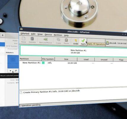Cómo formatear el disco duro NTFS en Linux