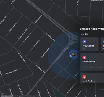 Cómo localizar un Apple Watch perdido usando Find My App