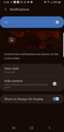 Personaliza la pantalla de bloqueo Android Notificaciones