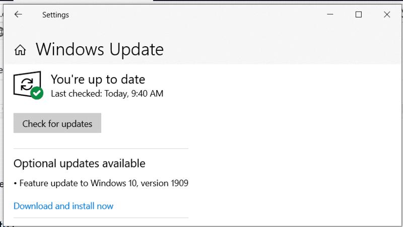Actualizaciones al descargar el error excepcional de la tienda