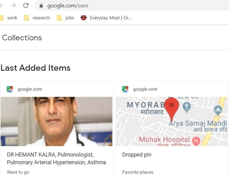 Marcar Google Watchlist