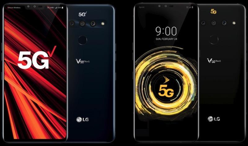 Los mejores smartphones 5g Lg V50 Thinq 5g