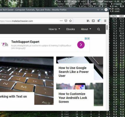 Cómo configurar el terminal como fondo de pantalla transparente en Kubuntu