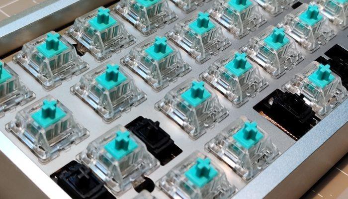 Interruptores mecánicos de guía de teclado mecánico personalizado