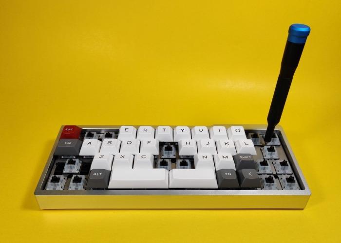 Guía de teclado mecánico personalizado 32
