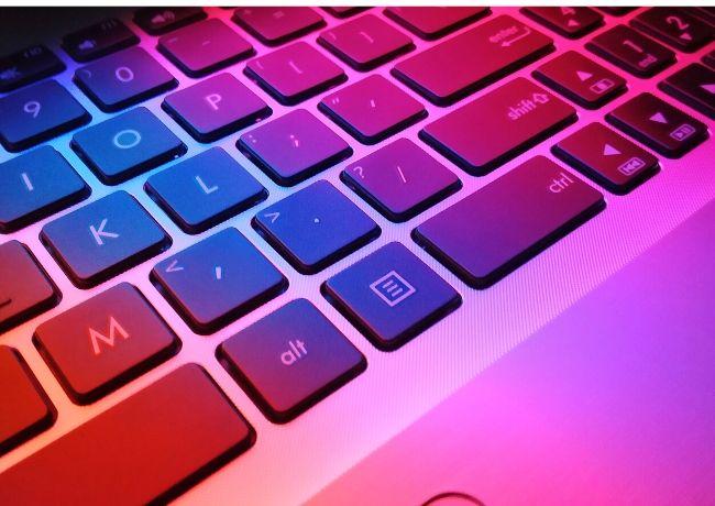 Mejora tu teclado con una velocidad de escritura colorida