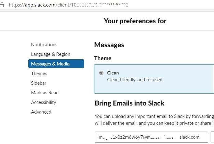 Buzón de correo Gmail Cliente de correo electrónico de Slack Reenviar correo electrónico