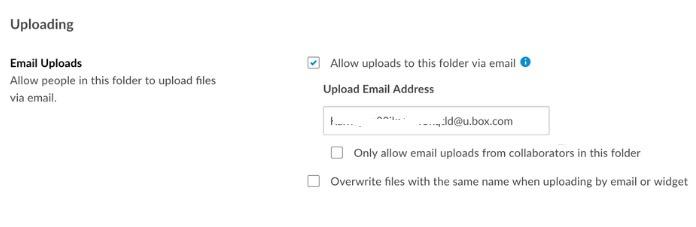 Dirección de correo electrónico del buzón de búsqueda de clientes