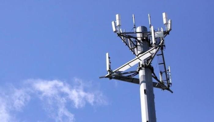 Torre de telefonía celular desbloqueada