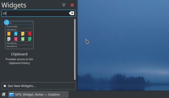 Widget Kde Portapapeles Widget Txt Note Panel Widget