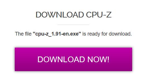 Identificación de la tarjeta gráfica Descargar Cpu Z