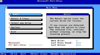 Linux necesita el antivirus Microsoft Anti Virus (captura de pantalla)