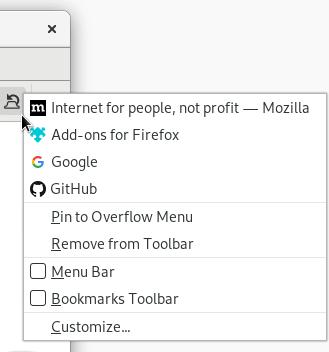 Las mejores extensiones de Firefox Deshacer Cerrar pestaña
