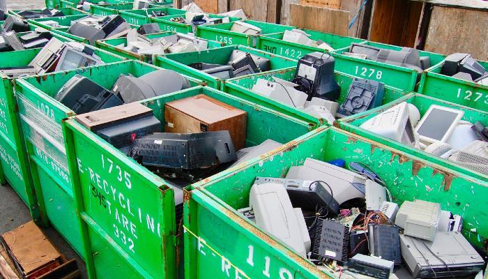 Reciclaje de portátiles
