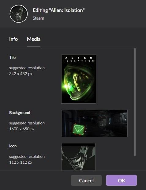 Imágenes de juegos multiplataforma de Gog Galaxy 2