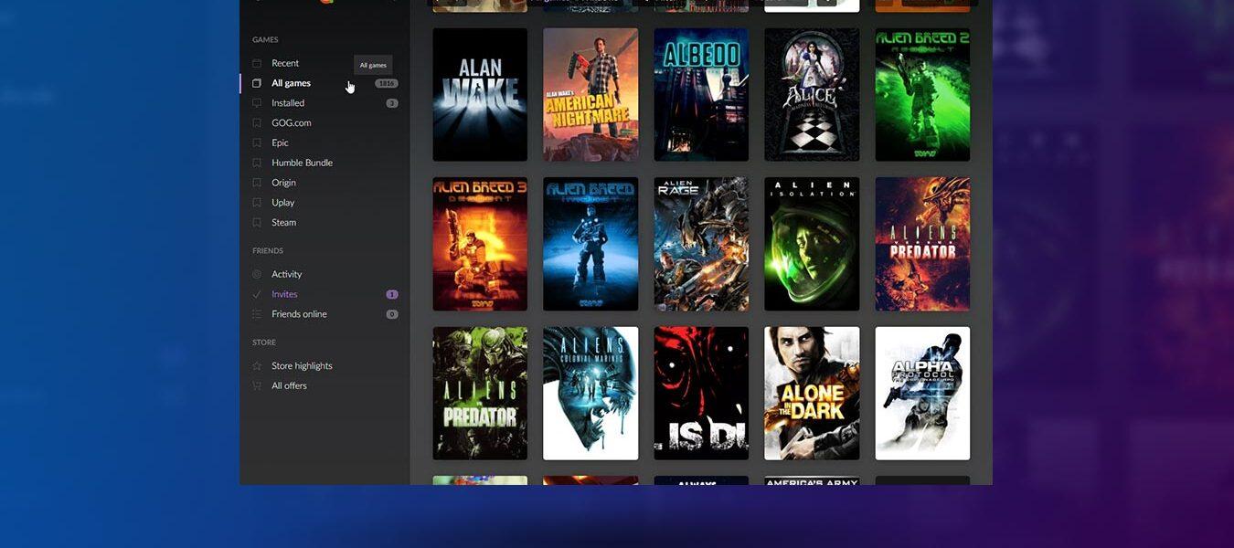 Administre todos sus juegos en diferentes tiendas con GOG Galaxy 2.0