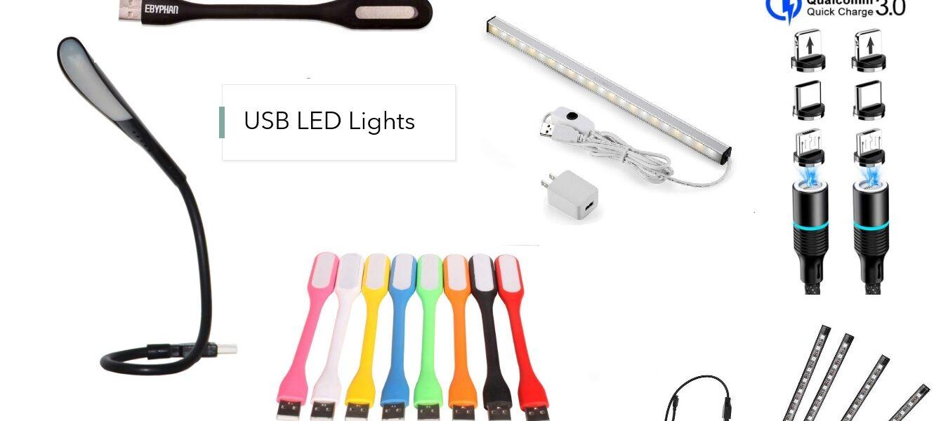 ¿Qué son las luces LED USB y para qué sirven?
