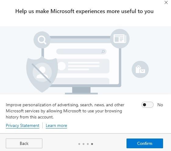 Manos a la obra en la privacidad de Microsoft Edge