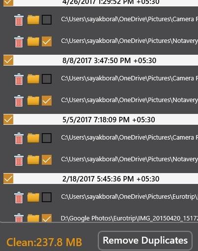Eliminar archivos duplicados Windows Archivo duplicado eliminado eliminado