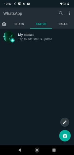Activar el modo oscuro de Whatsapp