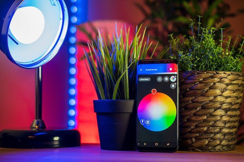 Elija las bombillas adecuadas para Smart Home Phoneapp