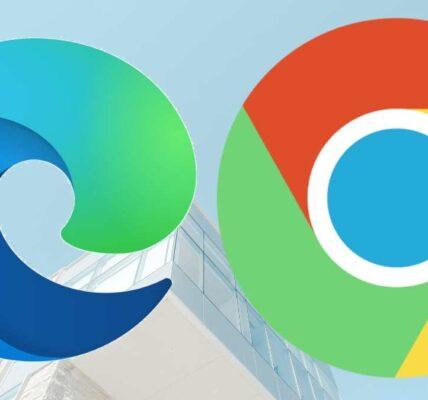 Microsoft Edge (versión de Chrome) frente a Google Chrome